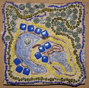 Monday - Mosaic Doodle