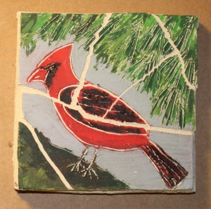 Wednesday - Cardinal Tile